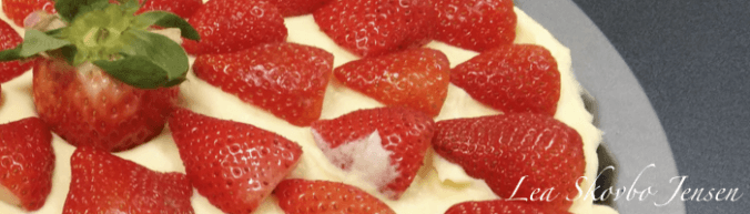 Jordbærtærte | leaskovbo.dk